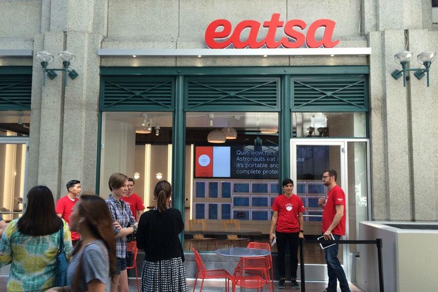 Visite Du Futuriste Restaurant Automatique