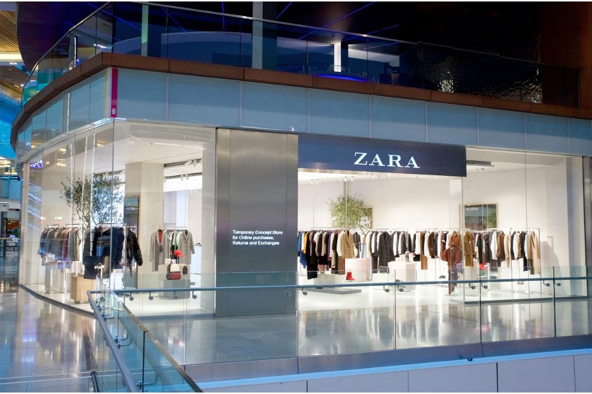zara ouvre londres un magasin d di la textile habillement. Black Bedroom Furniture Sets. Home Design Ideas