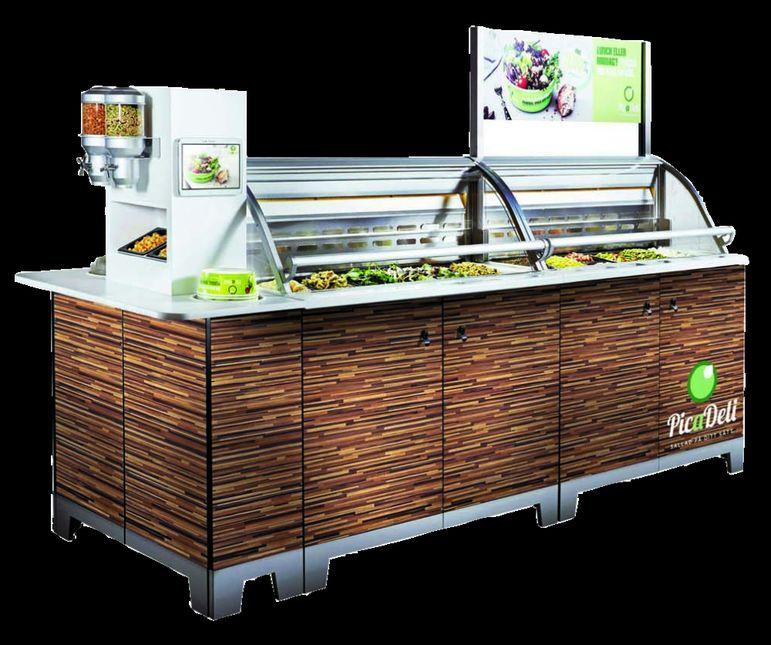 Picadeli Le Bar à Salade Connecté En Aménagement