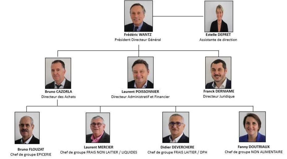 Les parts de marché cumulées des acteurs d'Alliance représente environ 21% de la distribution française.