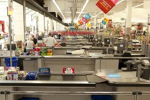 Carrefour teste la file d'attente unique en caisse en France dans ACTEURS 000013392_5