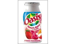 Yaourt a boire aux fruits-Fraise/Framboise-OASIS de Senoble