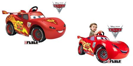 cars flash mcqueen 6v de feber voiture lectrique pour enfants. Black Bedroom Furniture Sets. Home Design Ideas