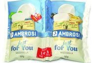 Mozzarella 2x50g Just For You d'Ambrosi-Emmi