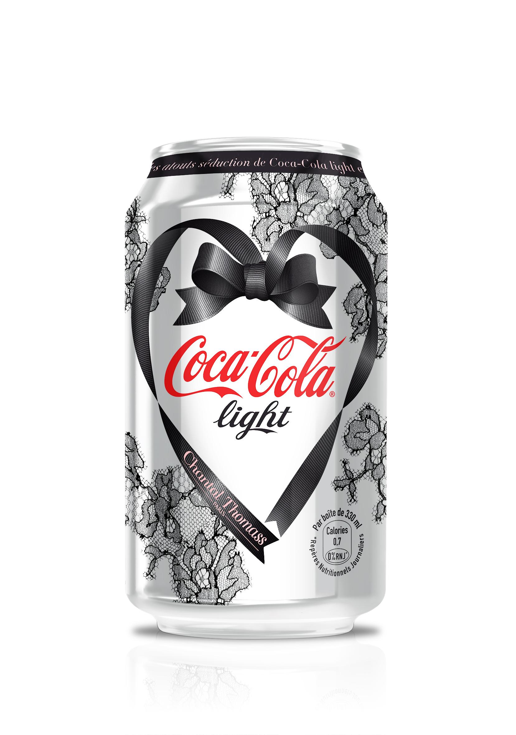 coca cola light par chantal thomass une boissons et liquides. Black Bedroom Furniture Sets. Home Design Ideas