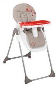 Chaise Haute Easy de Badabulle de BADABULLE