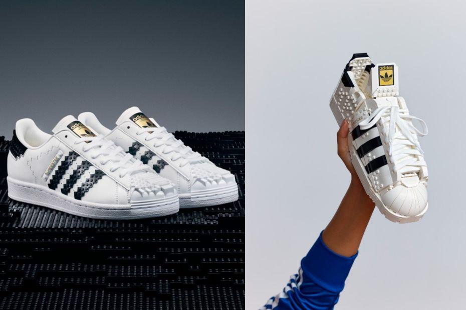 Des chaussures Adidas en Lego... et inversement ! - Loisirs, culture