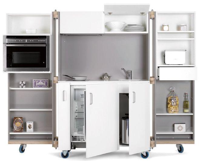 Neff compresse la cuisine march maison for Rangement petit espace cuisine