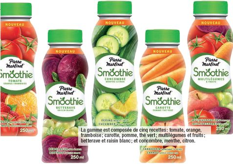 smoothies Pierre Martinet