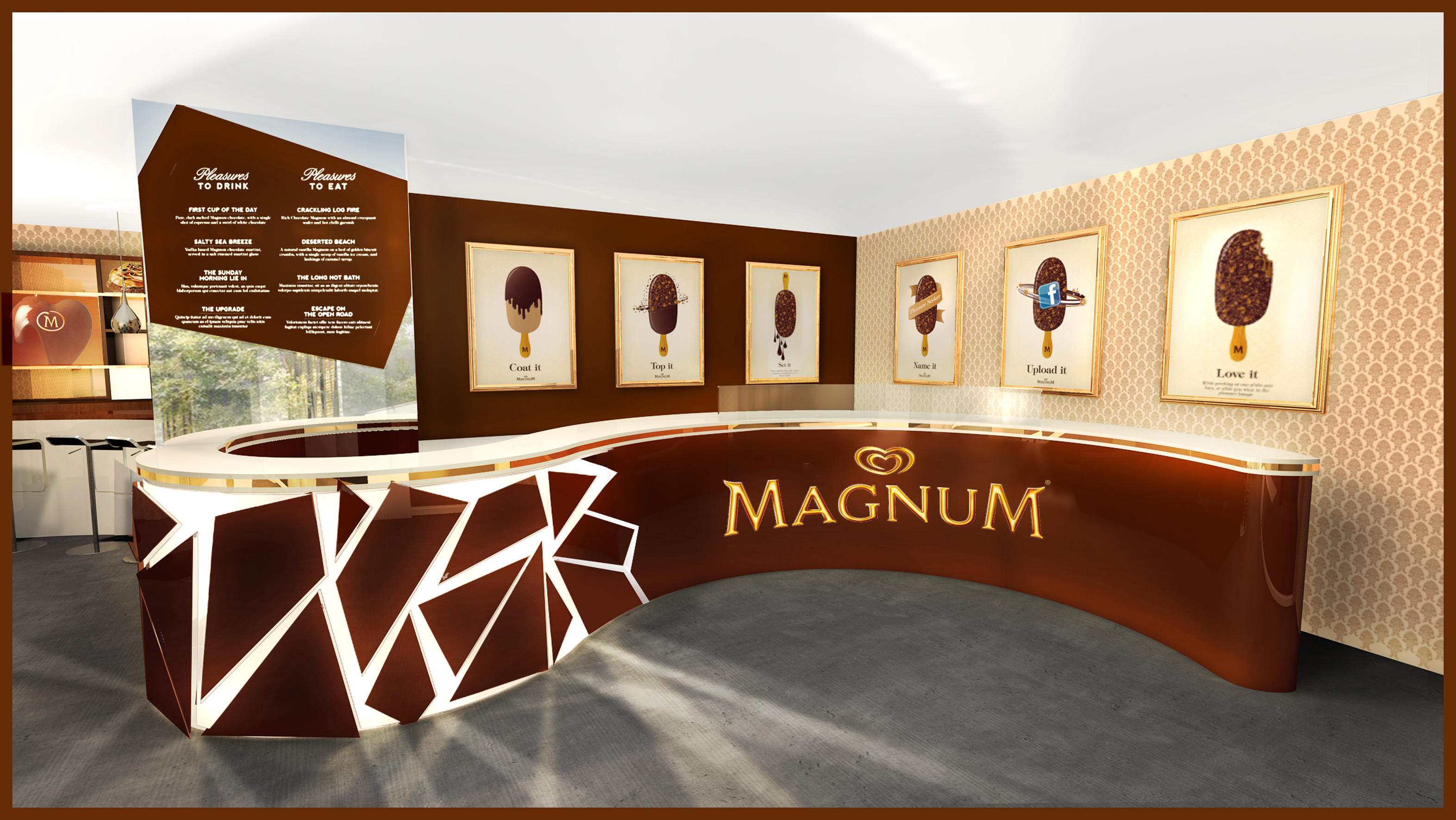 magnum ouvre son caf ph m re paris frais ls et produits surgel s. Black Bedroom Furniture Sets. Home Design Ideas
