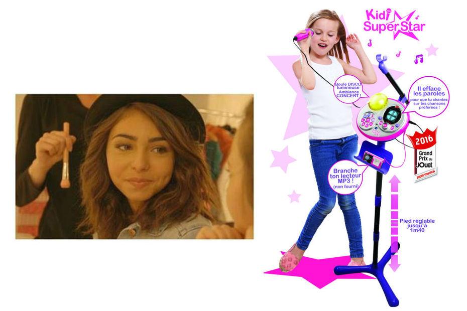 Carla, gagnante de l'émission The Voice Kids et membre du groupe Kids United