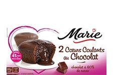 Cœurs coulants au chocolat de Marie