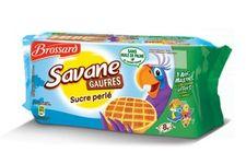 Les gaufres « Savane » au sucre perlé de Brossard