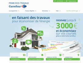 carrefour lance son tour la prime eco. Black Bedroom Furniture Sets. Home Design Ideas