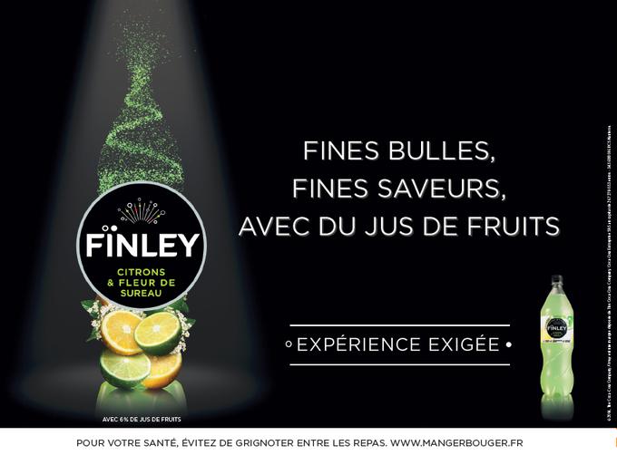 Favori La pub Fïnley (Coca-Cola) distille un brin de - Boissons et  QM21
