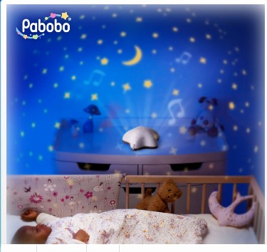 veilleuse projecteur etoile pabobo de pabobo. Black Bedroom Furniture Sets. Home Design Ideas