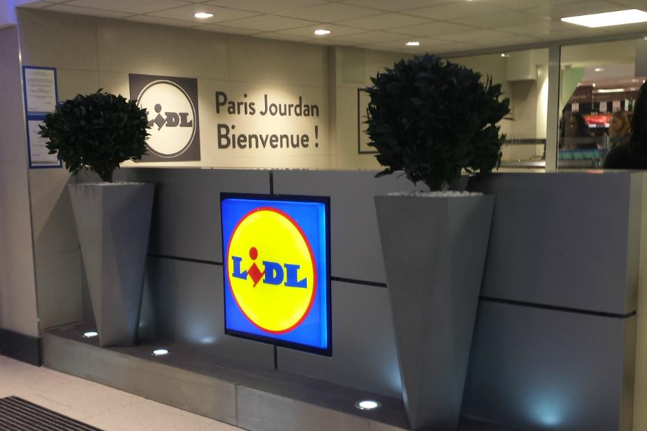 D couvrez le nouveau visage des magasins lidl - Lidl porte d orleans horaires ...