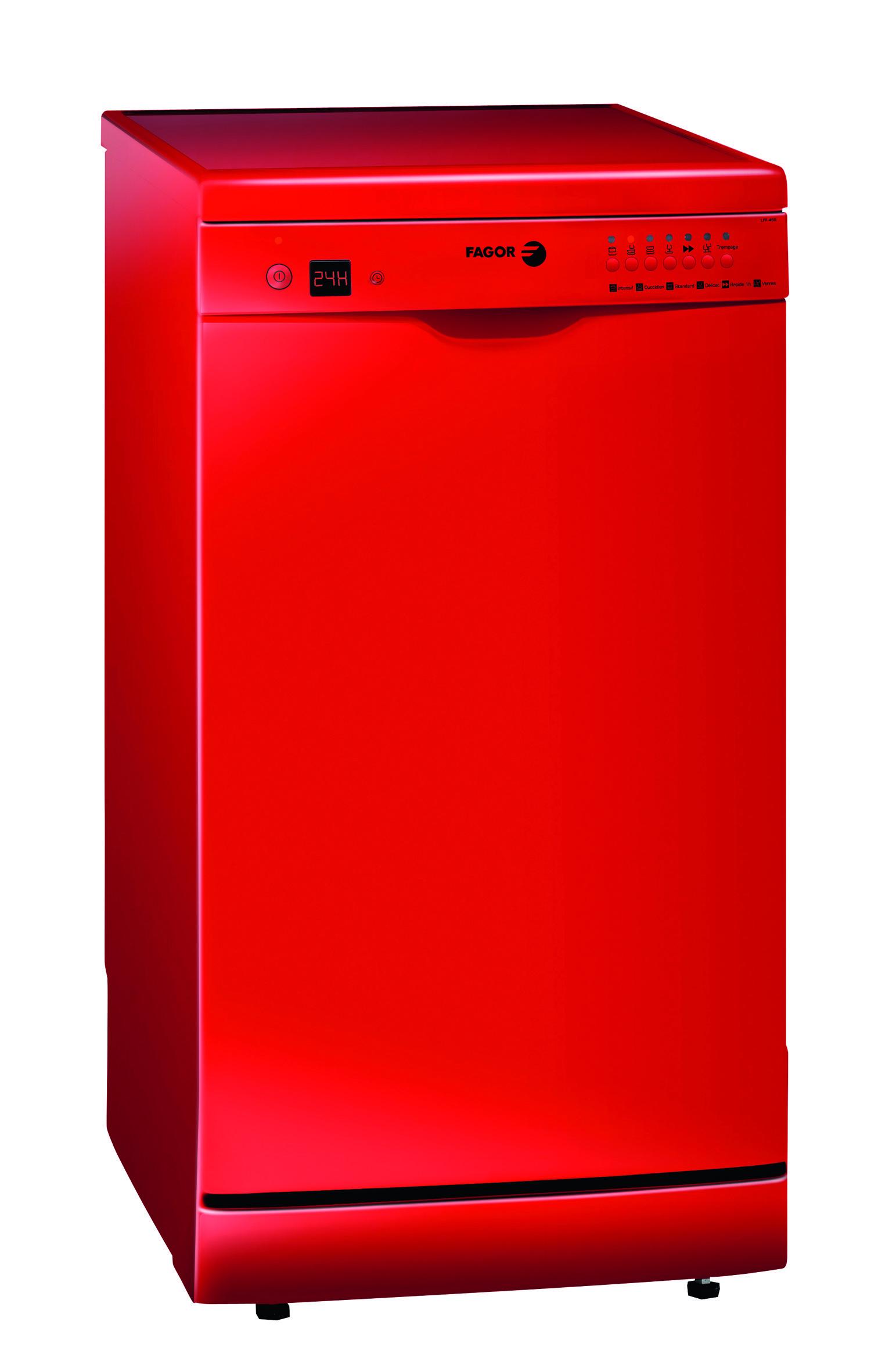 les lave vaisselle de fagor voient rouge ou. Black Bedroom Furniture Sets. Home Design Ideas