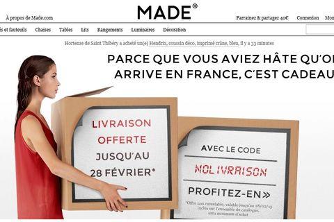 462786f9c23121 ... à petit prix lancé par des Français en Angleterre en 2010 a démarré en  France le 31 janvier. Une alternative à Ikea. Pas de stock, pas de  boutique, pas.