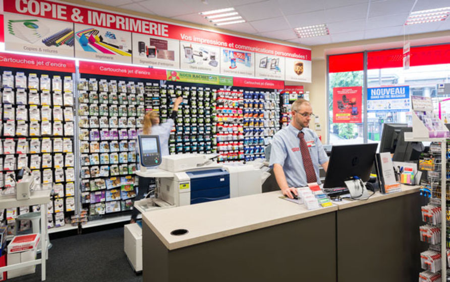 office depot optimise la gestion de ses
