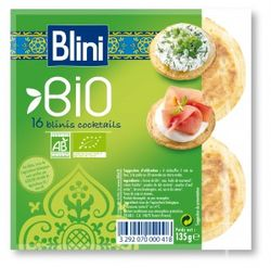 Les Blinis Cocktail BIO