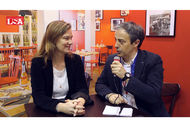 Mélanie Farcot Gigon, directrice générale de Tablapizza interviewé par LSATV sur Franchise Expo Paris 2016.