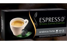 Capsules biodégradables de café Arabica Forte d'Ethical Coffee