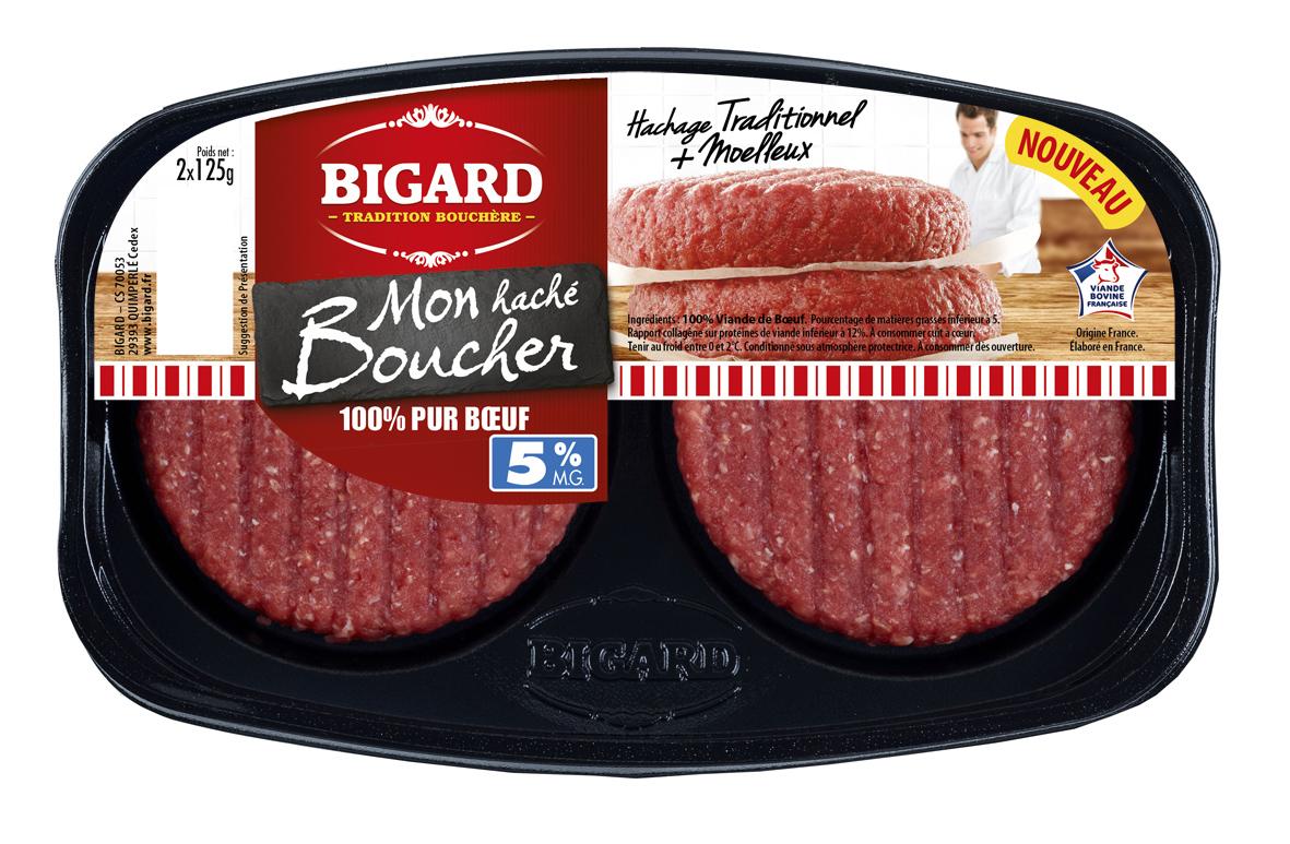 Populaire Bigard lance sa nouvelle génération de hachés - Boucherie XU17
