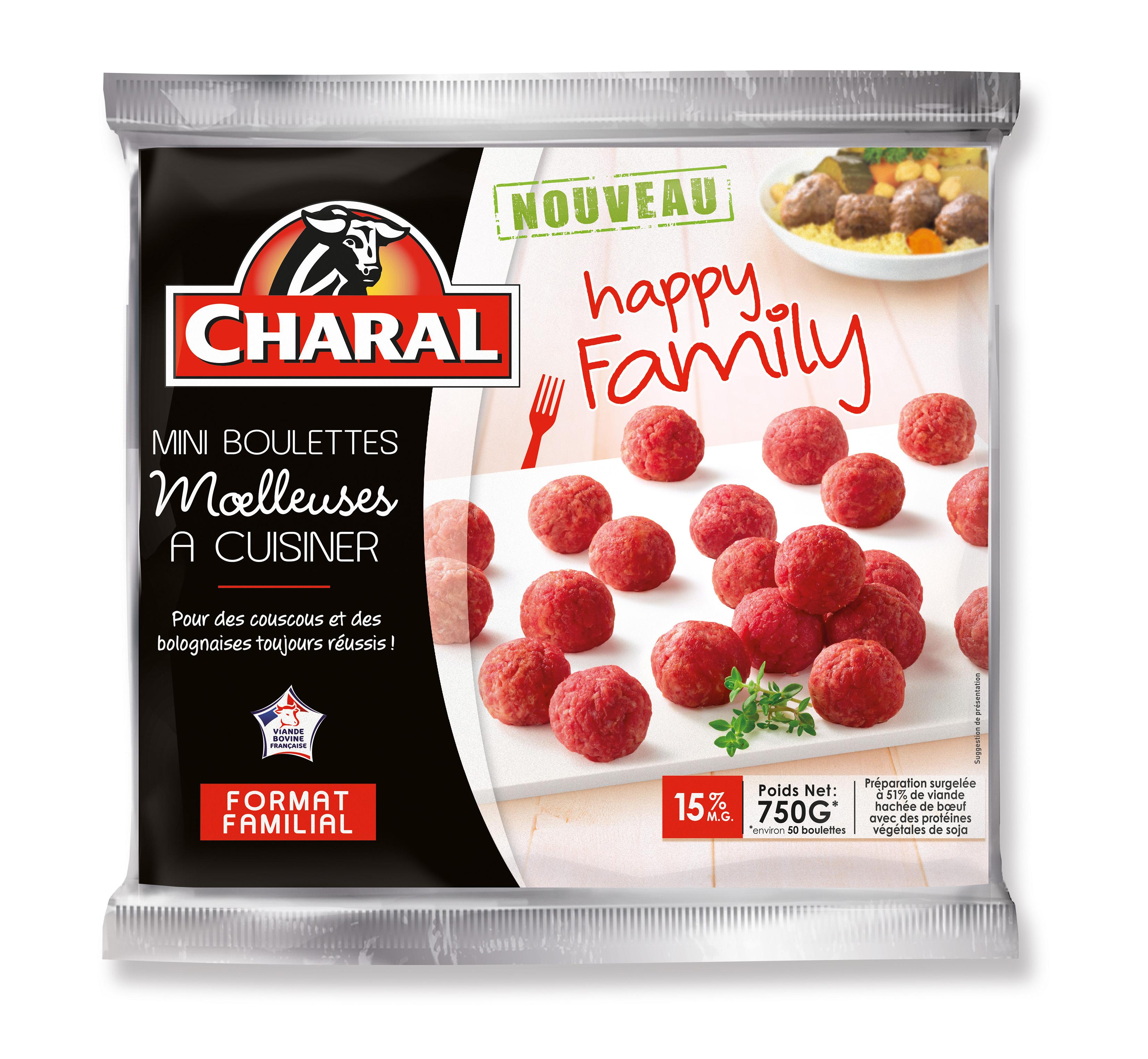 Mini boulettes moelleuses cuisiner happy family de for Viande a cuisiner