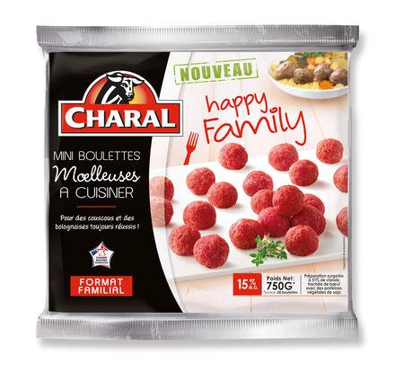 Mini boulettes moelleuses cuisiner happy family de charal for Viande a cuisiner