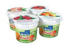 Fromage Frais aux Fruits 0% de Malo