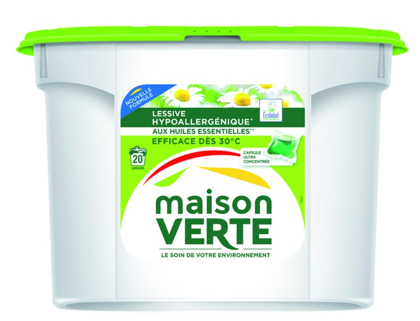 Lessives l 39 innovation contre la d flation march maison - Maison verte lessive ...
