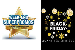 "A l'occasion du Black Friday 2016, Toys'R'Us propose un week-end de ""superpromos"" tandis que King Jouet promet des rabais allant jusqu'à 80%."