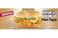 Double Krunch Black Pepper de KFC