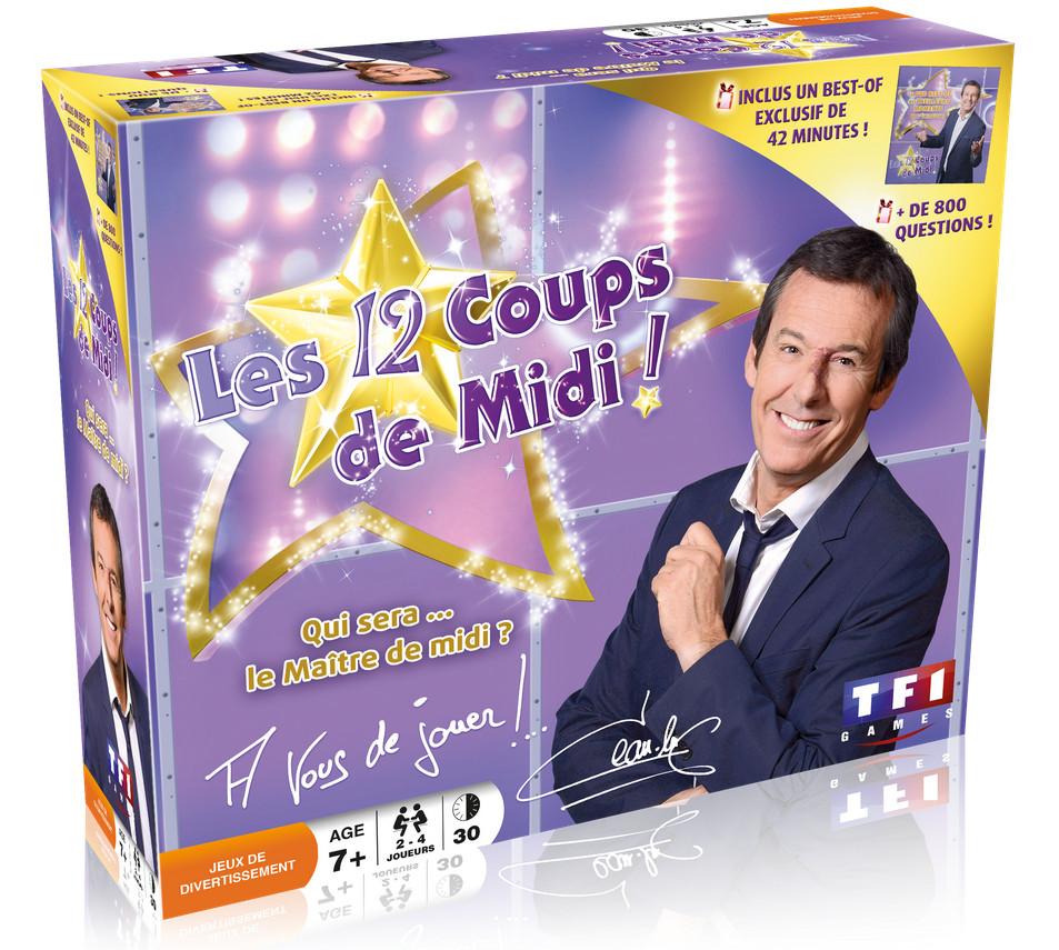 Jeu de société Les 12 Coups de Midi de TF1 Games de TF1 Games/Dujardin