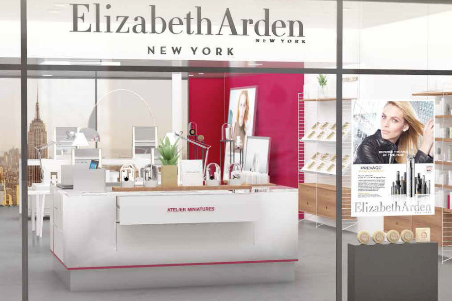 elizabeth arden inaugure son pop up store parisien. Black Bedroom Furniture Sets. Home Design Ideas