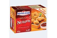 Nuggets 100% poulet Maître Coq