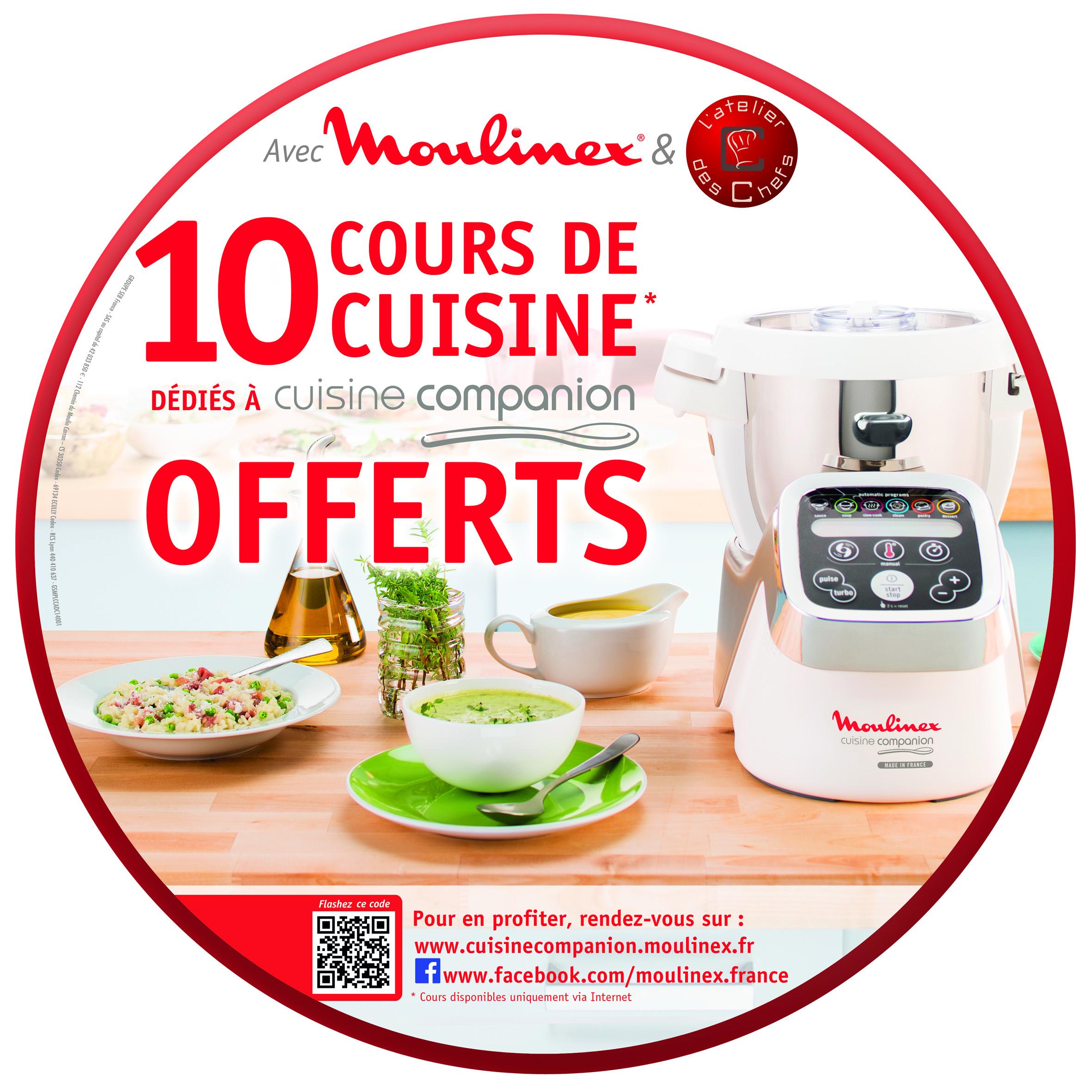 Moulinex offre des cours de cuisine en ligne petit for Configurateur cuisine en ligne