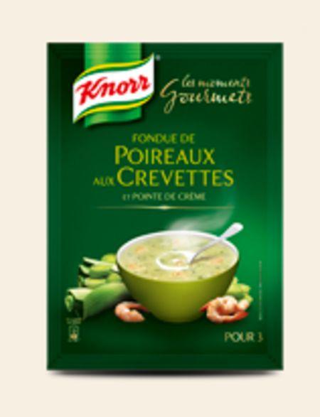Fondue de poireaux aux crevettes de knorr - Poireaux a repiquer vente ...