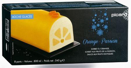 la b che glac e orange passion de picard. Black Bedroom Furniture Sets. Home Design Ideas