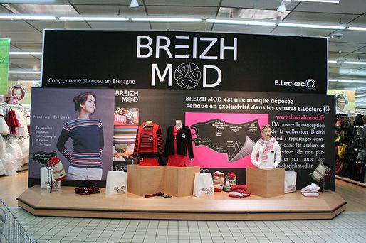 100% d'origine prix de détail sélection premium Leclerc dévoile Breizh Mode, sa collection... - Textile ...