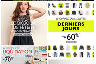 La Redoute tire un bon bilan de son opération Black Friday 2014.