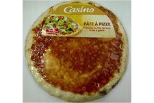 Pâte à pizza précuite au feu de bois, prête à garnir de Casino