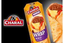Wrap de bœuf Charal