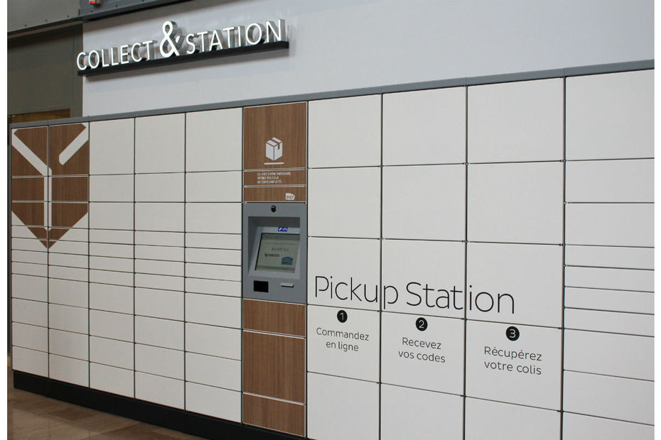 130 nouvelles consignes pickup station. Black Bedroom Furniture Sets. Home Design Ideas