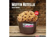 Muffin Nutella KFC