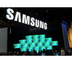 CES 2016  : stand Samsung
