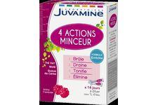 4 Actions Minceur de Juvamine