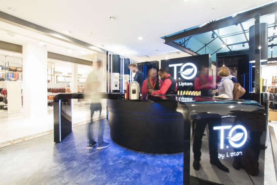 Un bar à thé digital au BHV pour découvrir