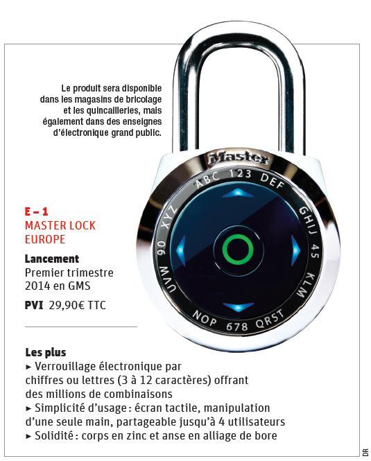 Ultra Le cadenas Master Lock entre dans l'ère... - Grande Distribution QQ-81